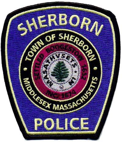Sherborn Massachusetts Patch Patches Police Patches Sherborn