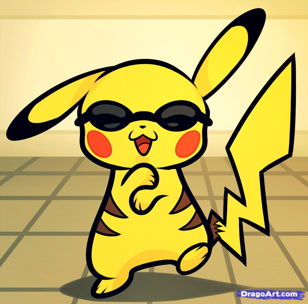 How to Draw Pikachu Gangnam Style Otakumode Engage