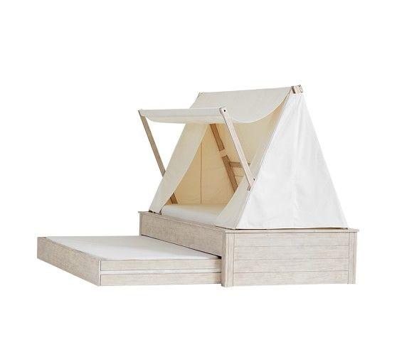 Wyatt Trundle Platform Bed Canopy Pottery Barn Kids Boho