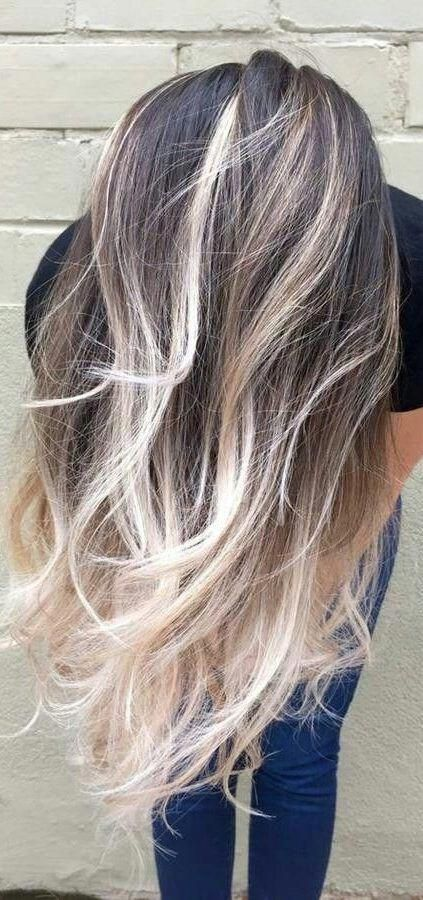 48 Beautiful Platinum Blonde Balayages for Summer 2019 - Latest Hair Colors