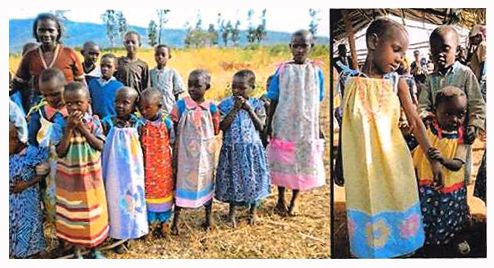 Pillowcase Dresses For Africa Thrift Town Sewing Projects Help Kids In Africalittle Pillowcase