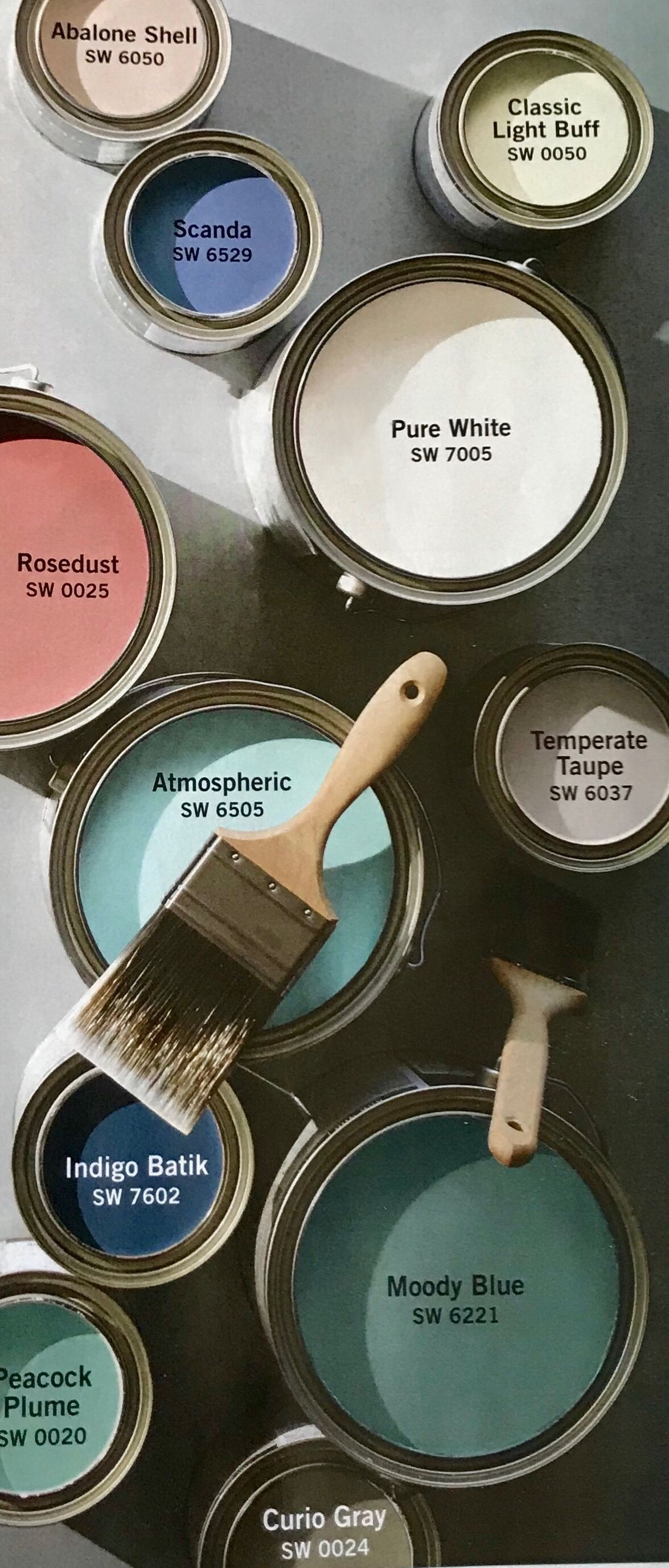 Pottery Barn Amp Sherwin Williams Spring Summer 2018 Paint