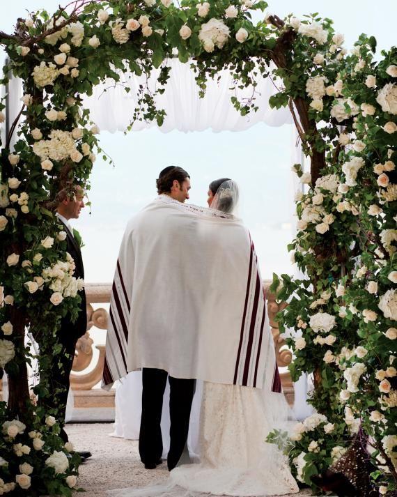 13 Chuppah Ideas From Jewish Wedding Ceremonies