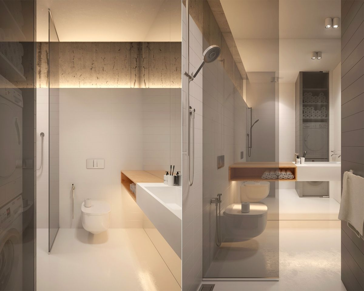 40 Modern Minimalist Style Bathrooms Minimalist Bathroom
