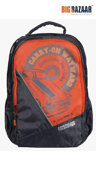 8dfb825ddc1 American Tourister POP-02 Backpack (Grey) Greys Online, Gym Bag, Backpack
