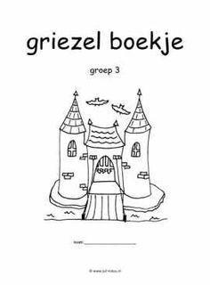 Knutselen Halloween Groep 3.Werkboekje Griezelen Kinderboekenweek Griezelig