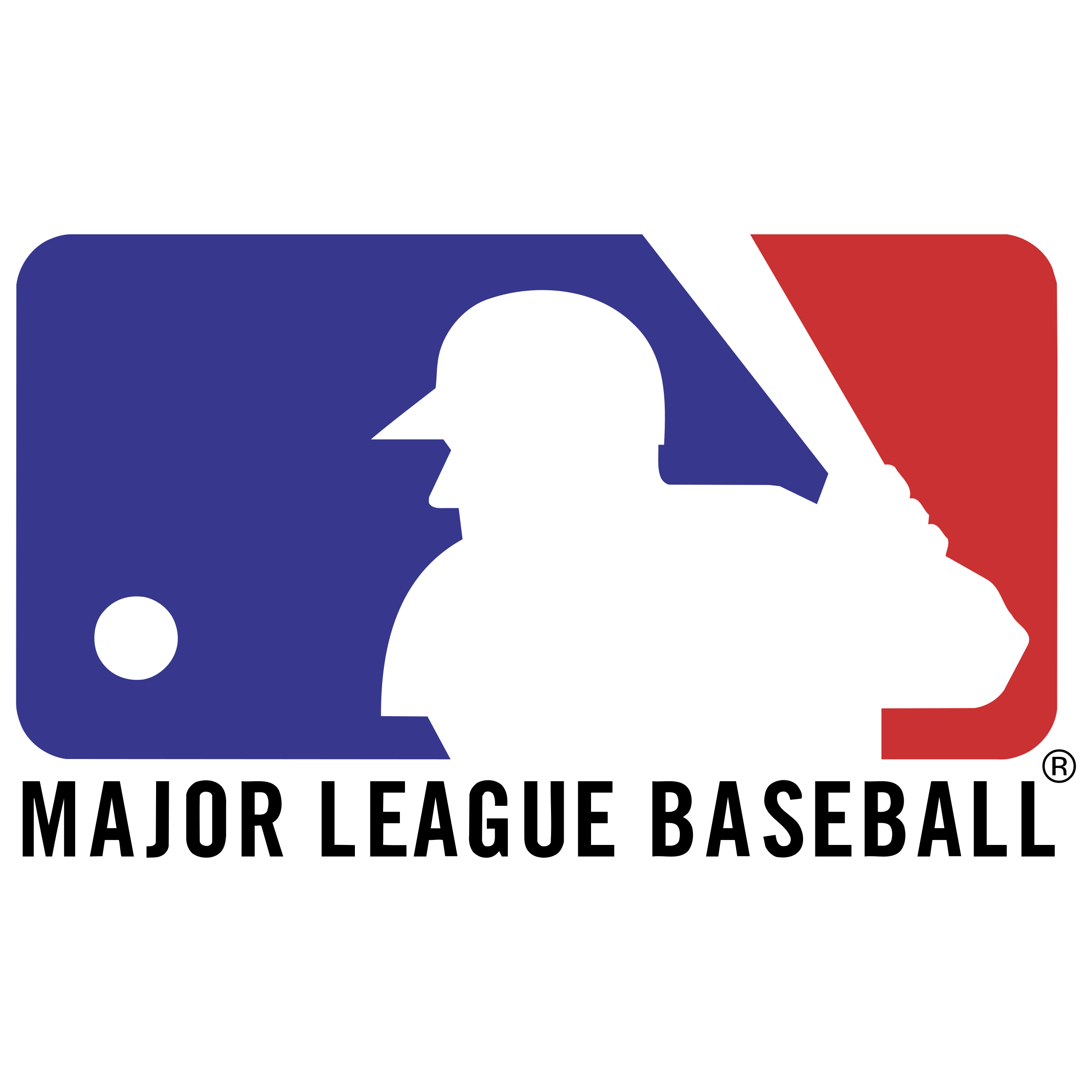 Mlg Logo With Name Png Image Mlb Logos Logos Major League Baseball