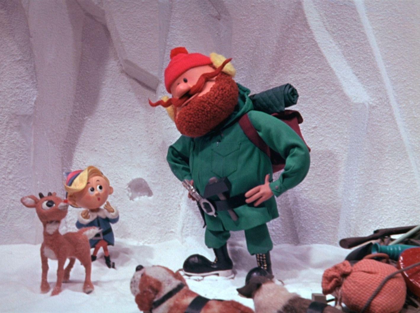 Yukon Cornelius meets Herbie and Rudolph | Stop Motion! | Pinterest ...