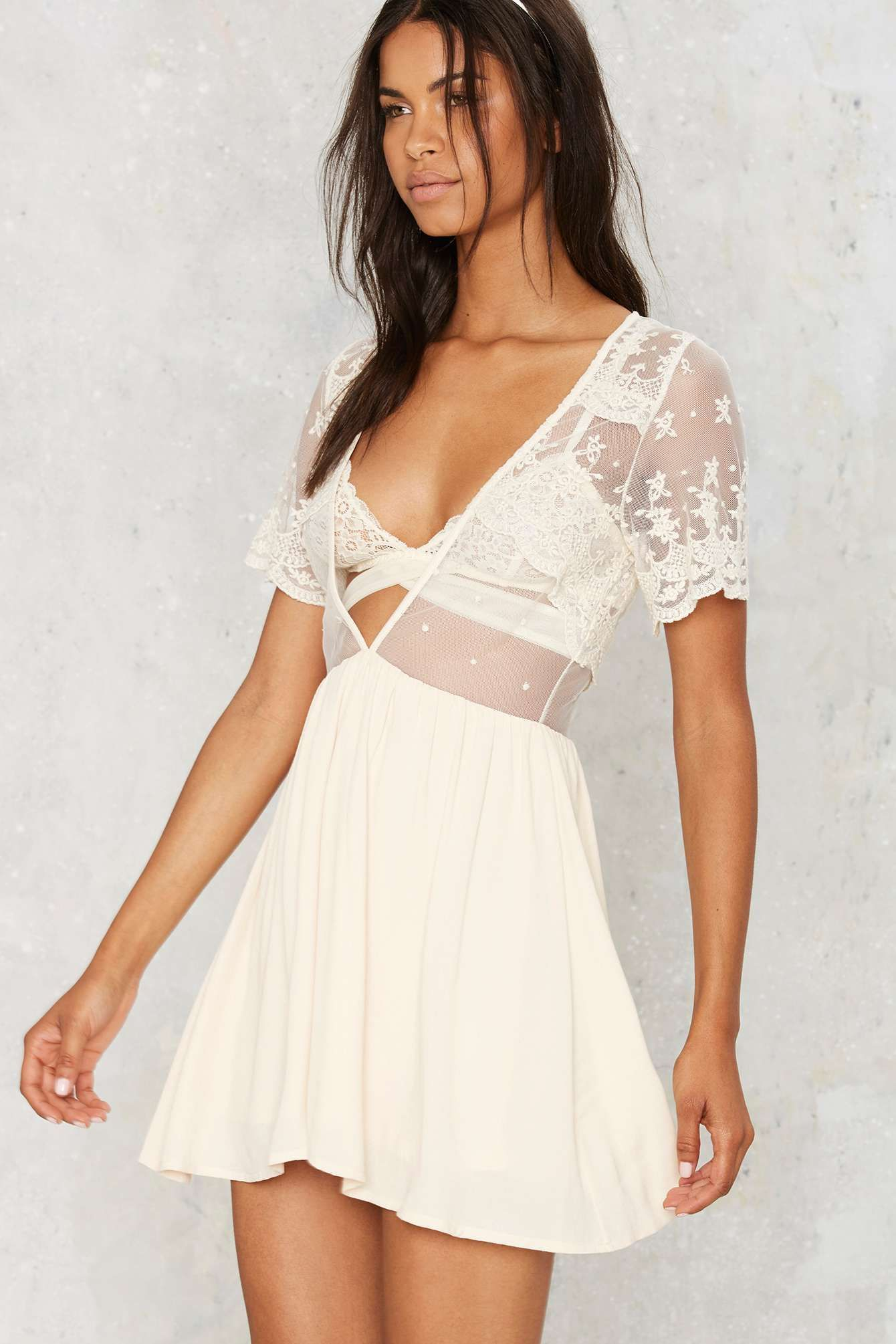 c0d1c8bf42f All or Next to Nothing Lace Dress