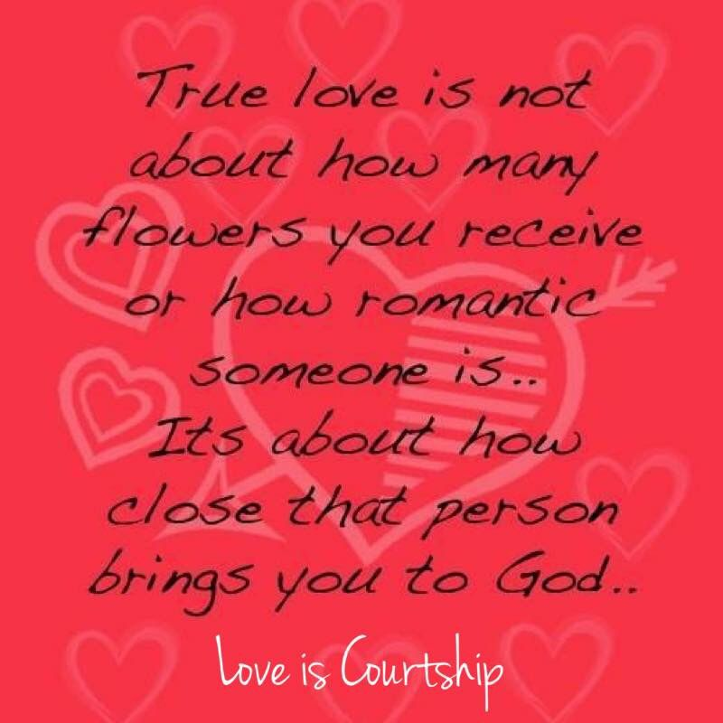 Someone who really loves you and who God has ordained as