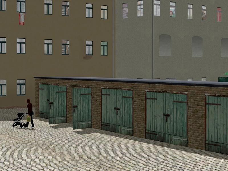 Gründerzeithaus mit Modellbahngeschäft
