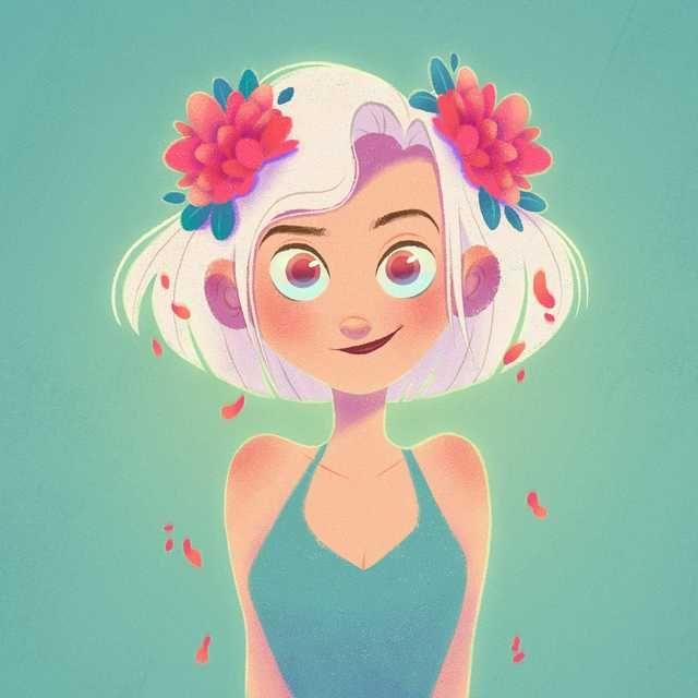 Art by Aveline Stokart - cute post