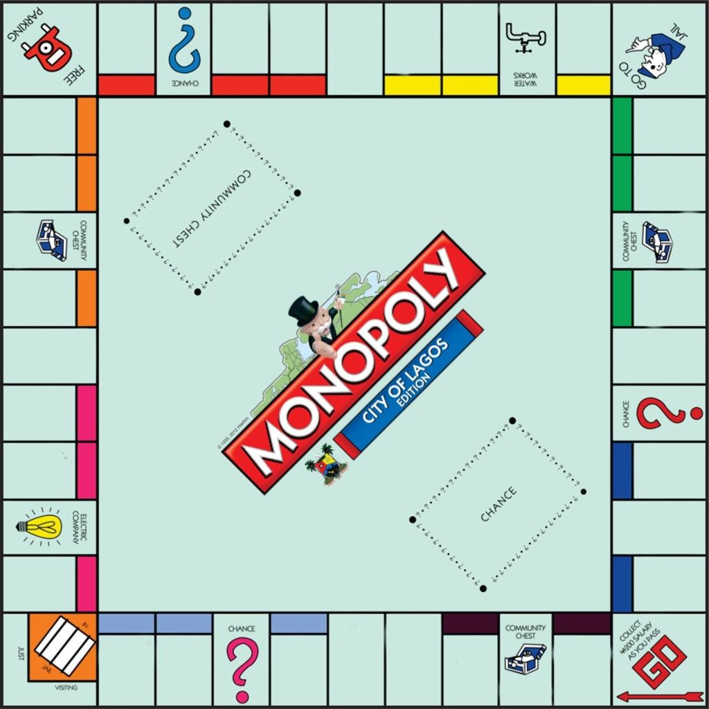 photo regarding Printable Monopoly Board called Monopoly Board Recreation Template board sport