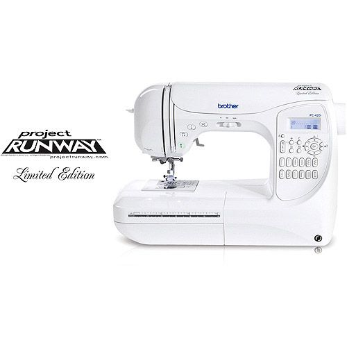 One Of These Days Brother Computerized 40stitch Project Runway Extraordinary Project Runway Sewing Machine Walmart