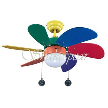 30 Colorful Ceiling Fan C6t30 Kid Good Colors For A Big