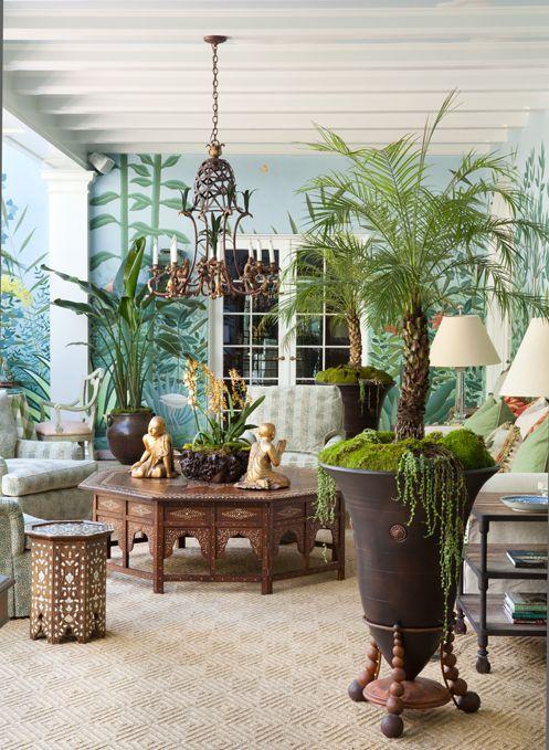 macetas coloniales con plantas - Buscar con Google rich beautiful - Decoracion De Terrazas Con Plantas