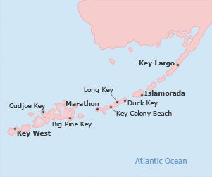 Where Is Duck Key Florida Map.Florida Keys Vacation Rentals Find Condos And House Rentals In
