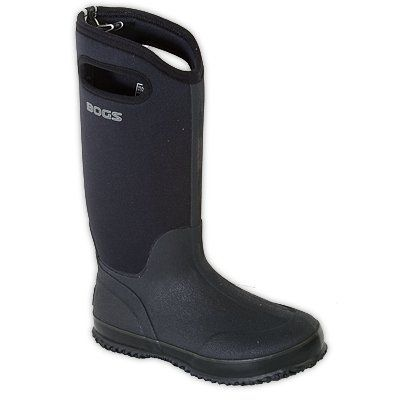 Bogs Boots Womens 15 Classic Rubber Farm WP 9 Black 60153