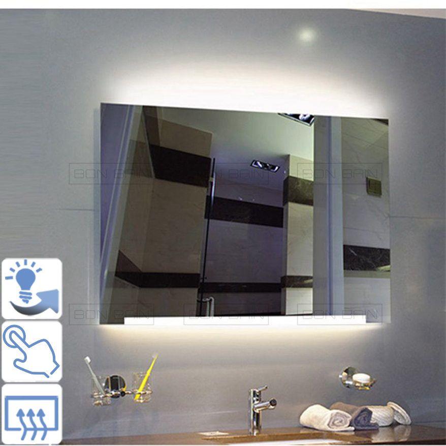 miroir LED pour une salle de bain qui rayonne Miroir LED
