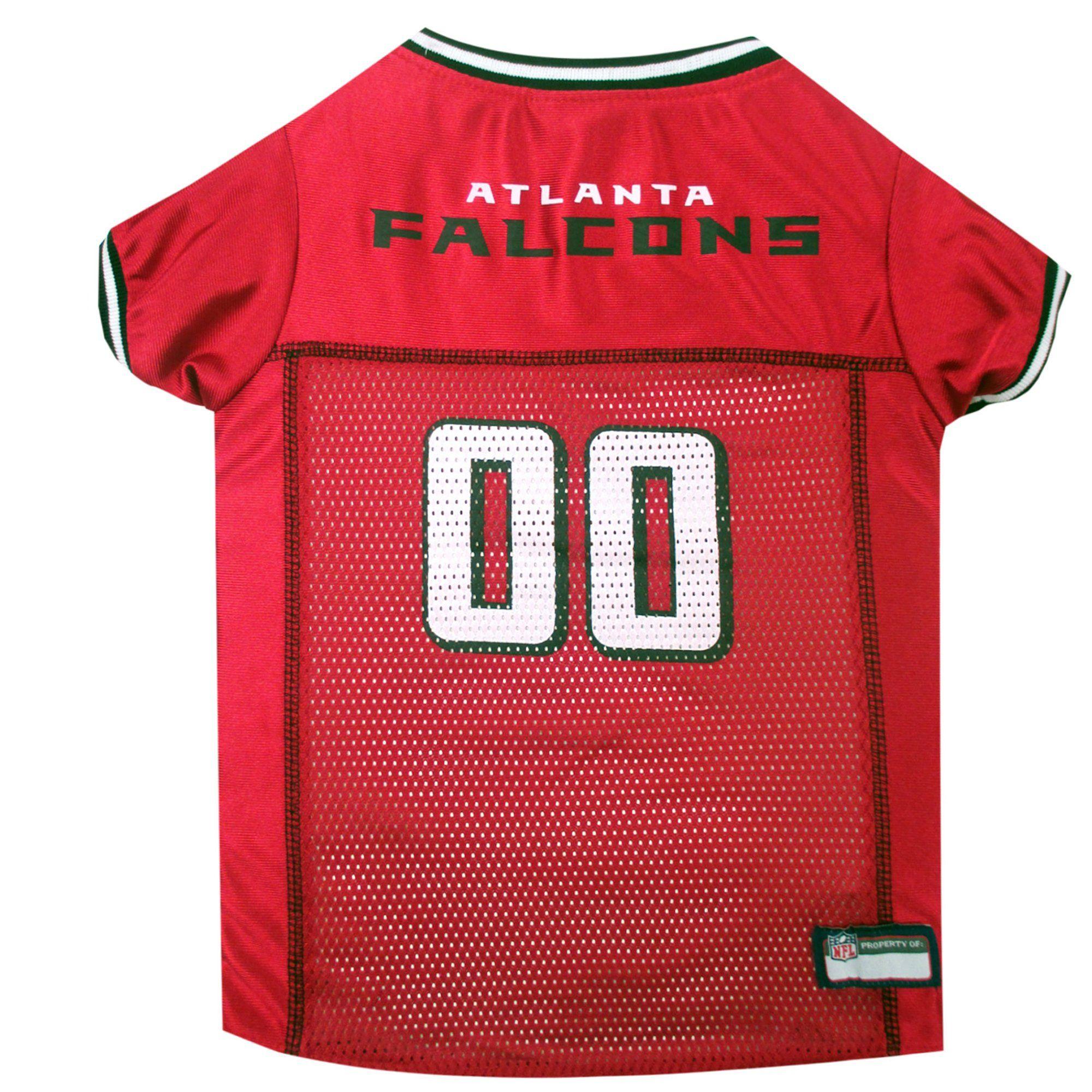 the best attitude e28ac 5e4cb Pets First Atlanta Falcons NFL Mesh Pet Jersey, X-Small ...