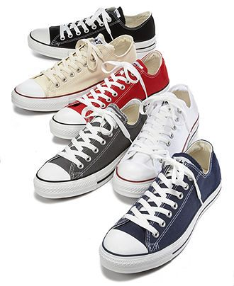Men's Chuck Taylor All Star Sneakers from Finish Line (With