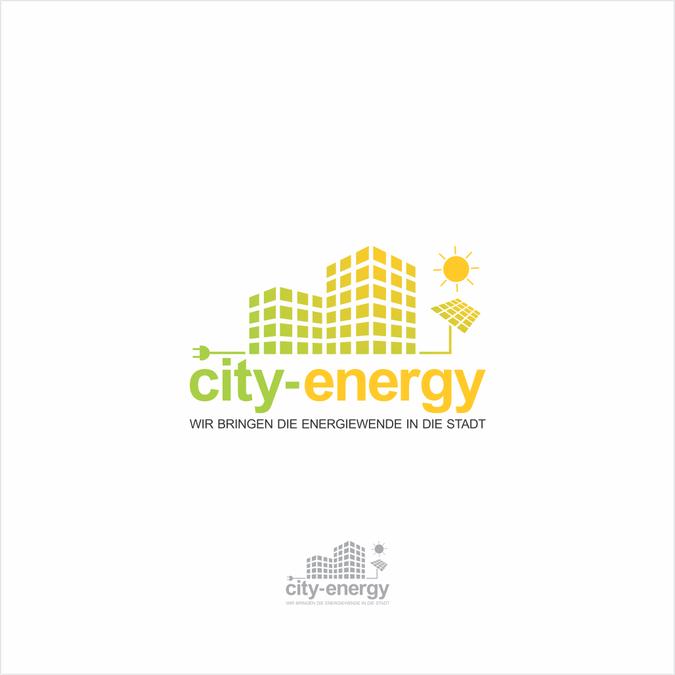 Freelance Project Logo F眉r City Energy Wir Bringen Die Energiewende In Die Stadt By Bigstar Megiri Geometric Logo Business Logo Vintage Logo