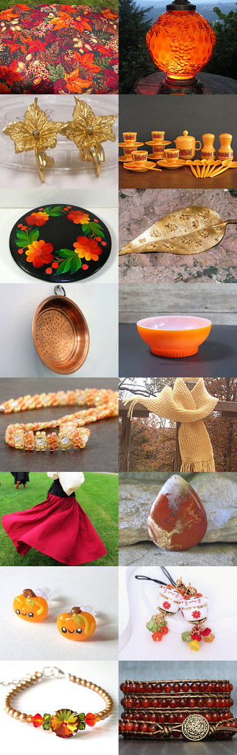 Summer Ends, Autumn Comes by Kathy on Etsy--Pinned with TreasuryPin.com