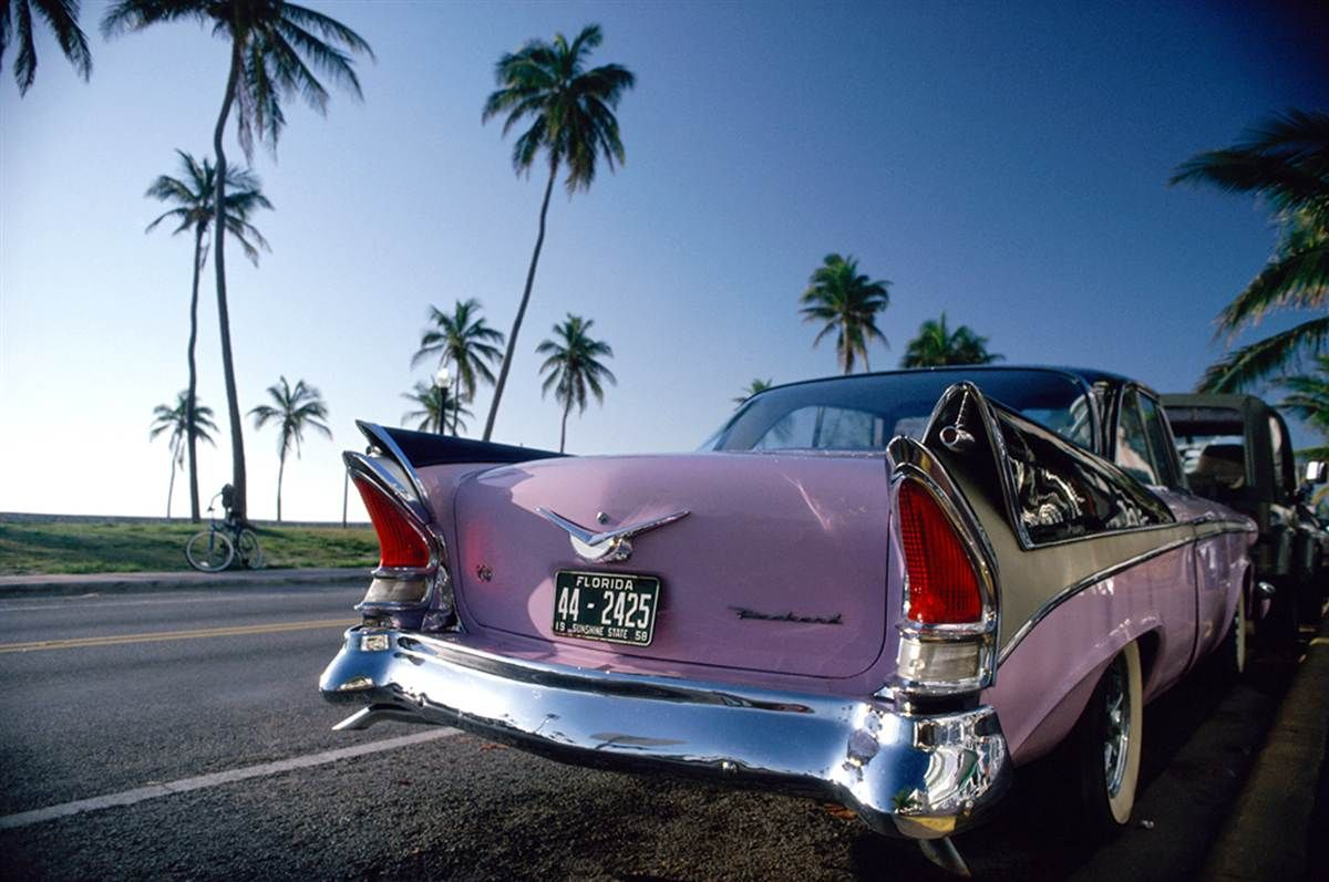 vintage car in miami zoom zoom pinterest miami cars and cruises. Black Bedroom Furniture Sets. Home Design Ideas