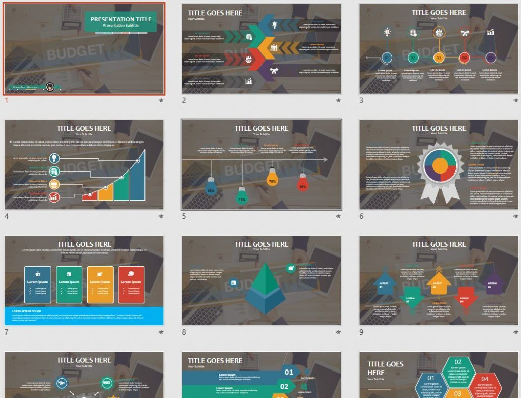 budget powerpoint free powerpoint templates by sagefox free