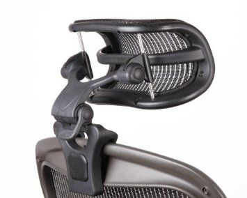 Patented Design Specifically Designed To Fit Herman Miller S Aeron Chair Chiropractor Recommended Fully Adjustable Headrest Herman Miller Aeron Chair Chair