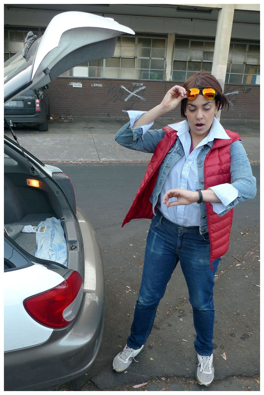 Marty Mcfly Back To The Future Costume Marty Mcfly Mcfly Back To The Future