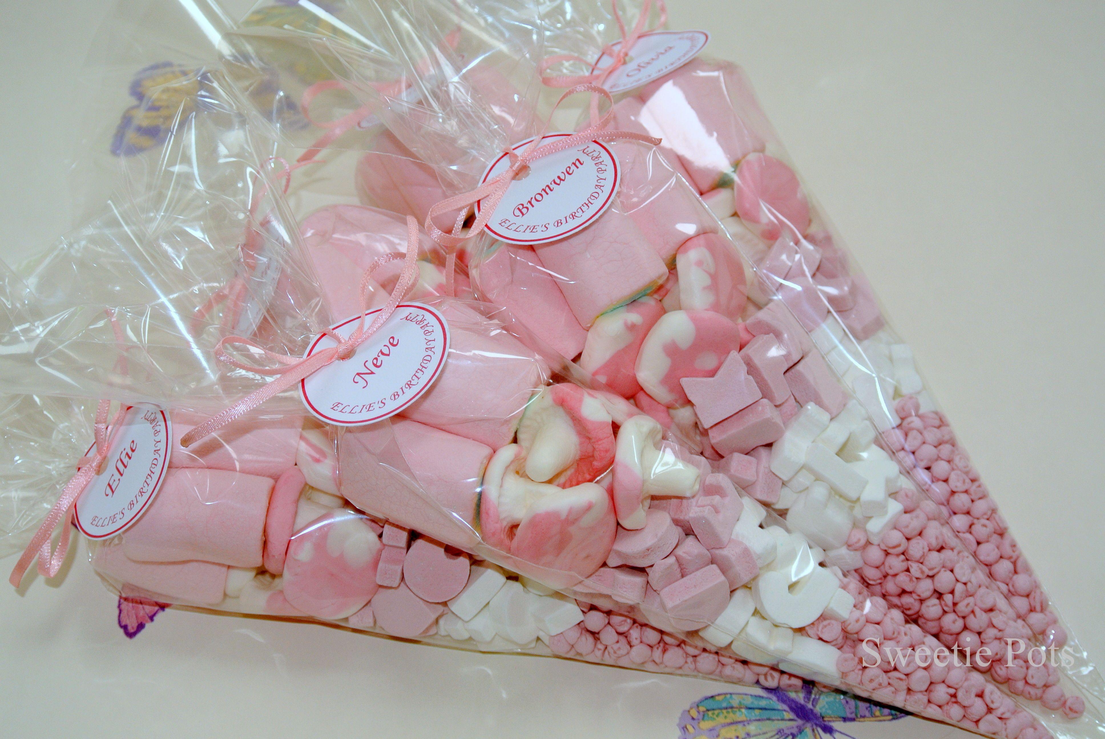 Girl Sweet Cones Personalised Unicorn Baby Shower