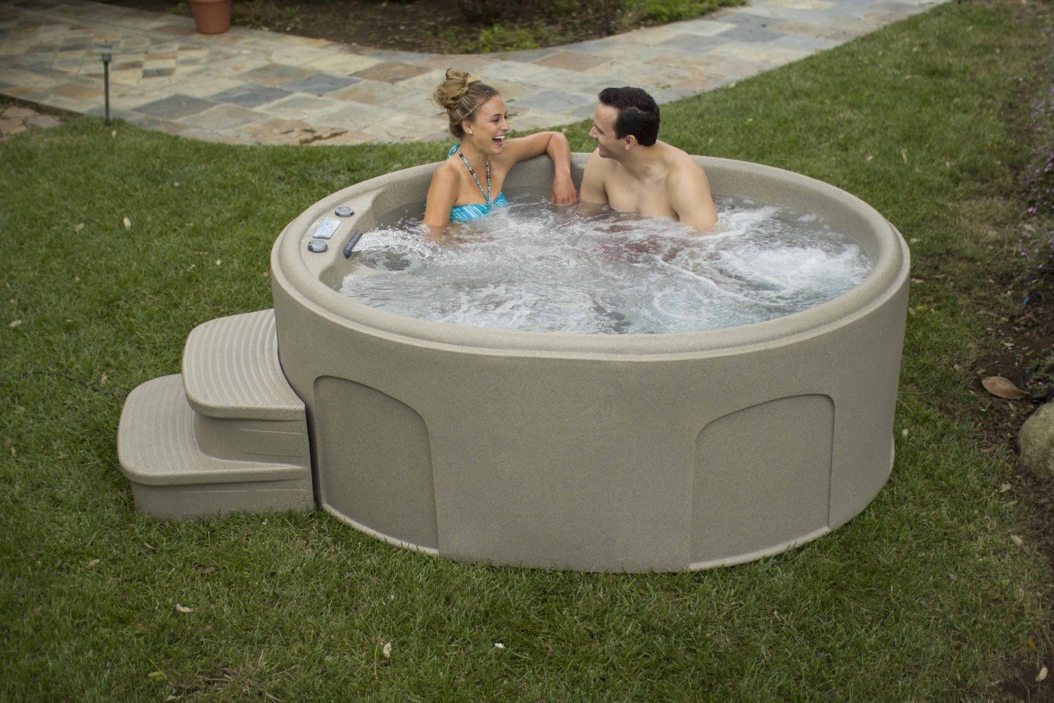 dlx lifesmart jet pdx hot person play system ozone and plug spas reviews spa outdoor luna with waterfall wayfair tub