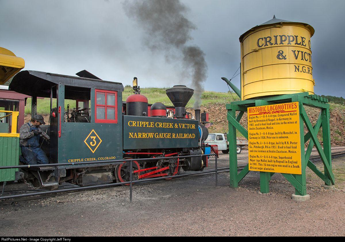 RailPictures.Net Photo: CCV 3 Cripple Creek & Victor Narrow Guage Railroad…