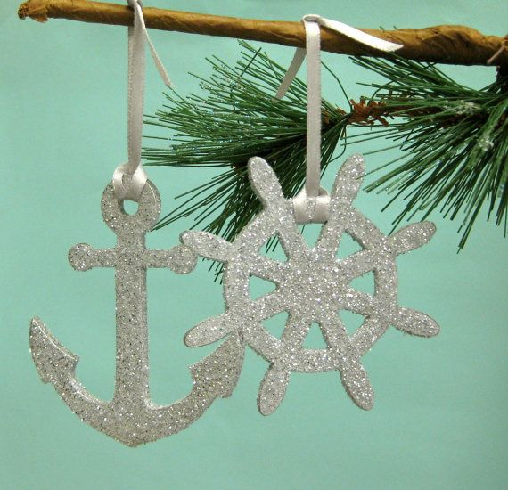 Nautical Ornaments, another theme maybe? Holiday Hooray