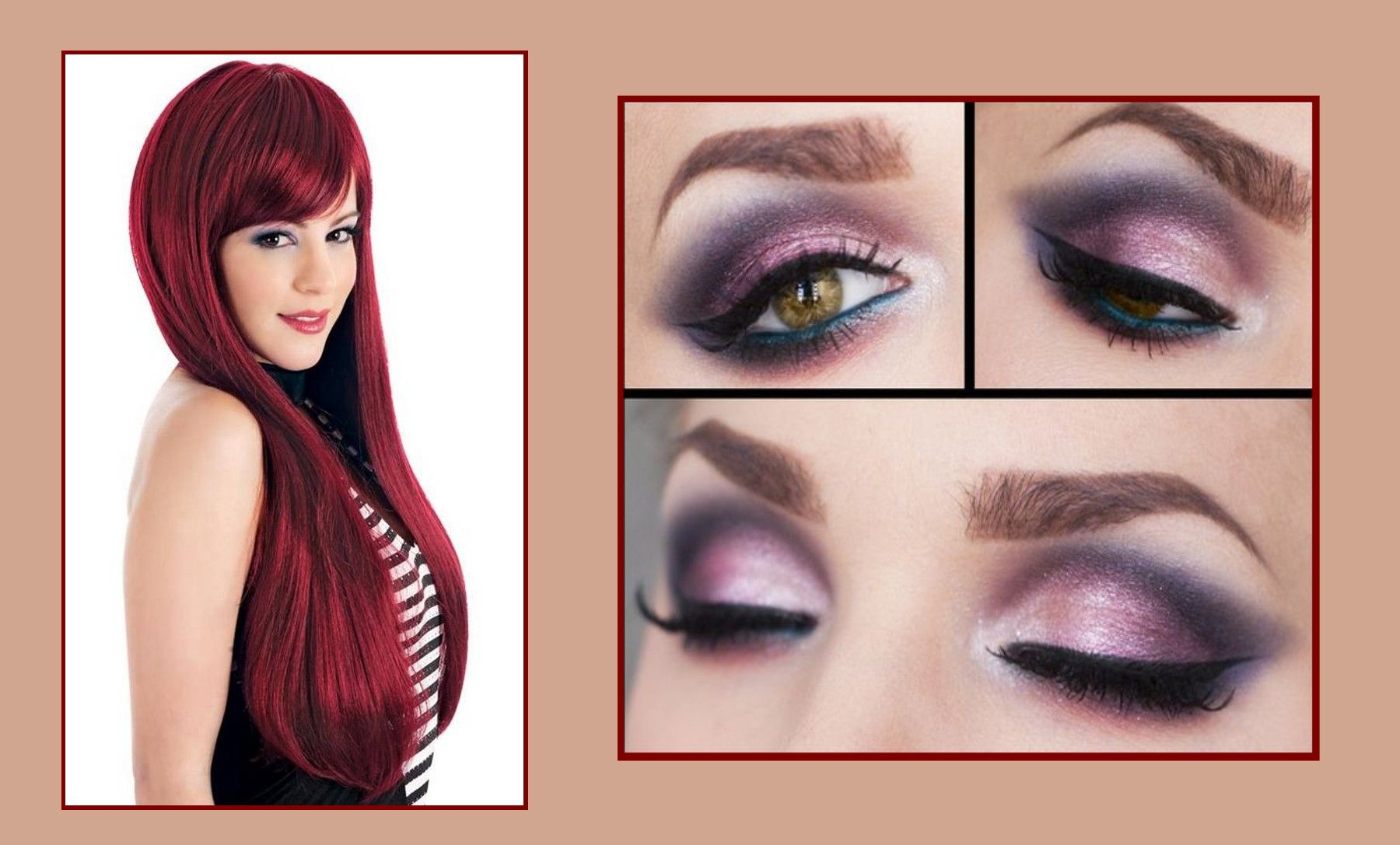 makeup for hazel green eyes | makeup for green eyes and red