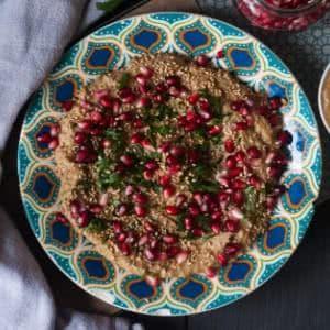 Baba Ganoush Rezept: Die orientalische Auberginencreme aus dem Mixer