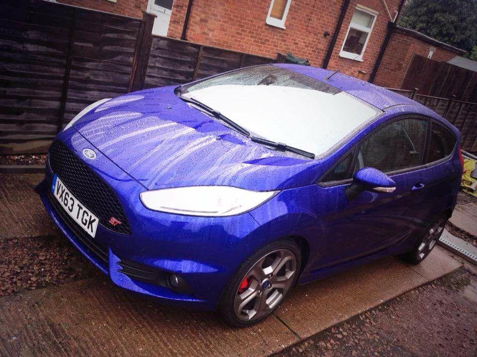 Ford Fiesta St Spirit Blue 2 Months Old Ford Fiesta St Fiesta