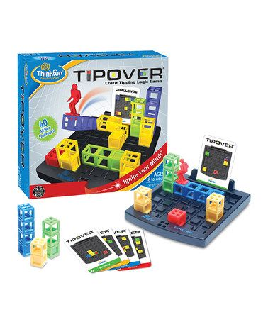 Take a look at this TipOver Game by ThinkFun on #zulily today!