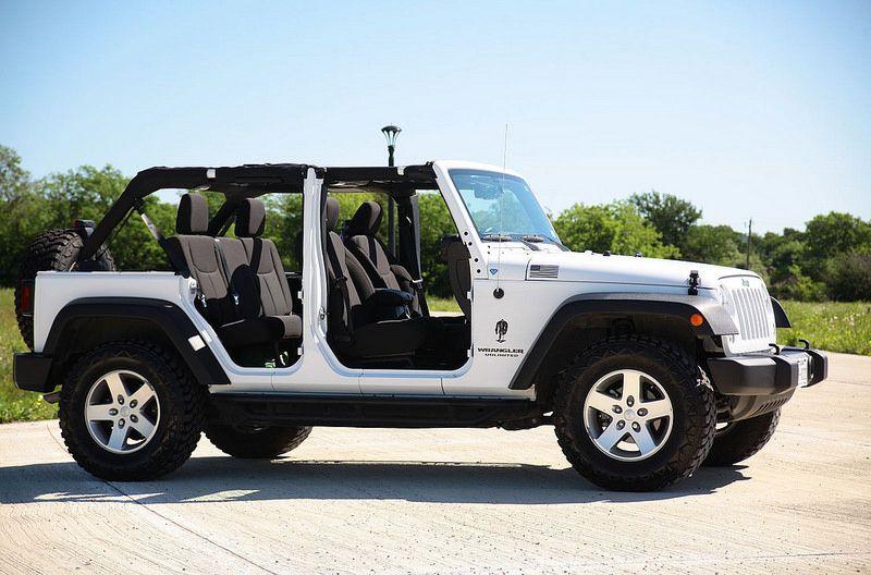 Jeep Wrangler Unlimited Doorless Jeep Wrangler Unlimited Dream