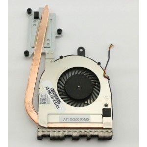 2fw2c Dell Inspiron I5559 1349slv Laptop Thermal Heatsink With Fan