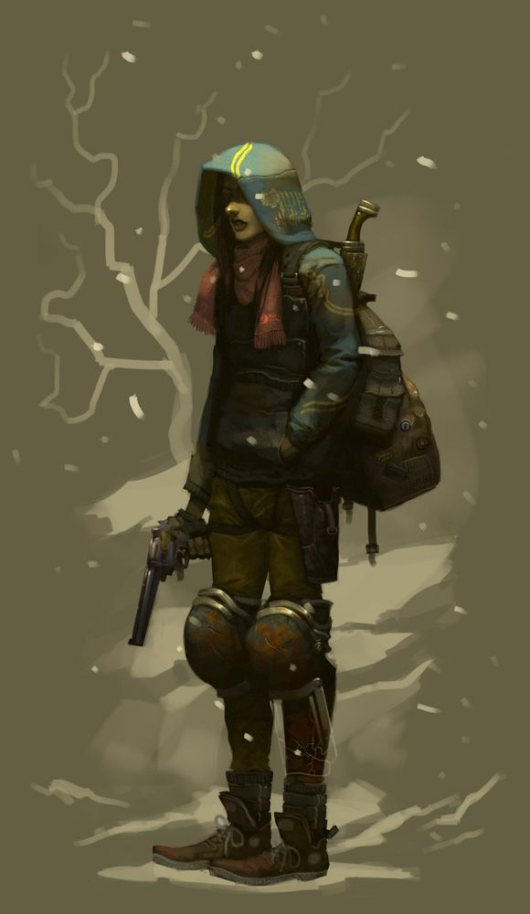 Courier Commission by regourso on DeviantArt
