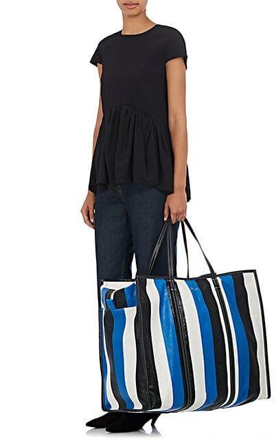 b4802e27def Balenciaga Arena Leather Bazar Extra-Large Shopper Tote Bag - Totes -  504728935