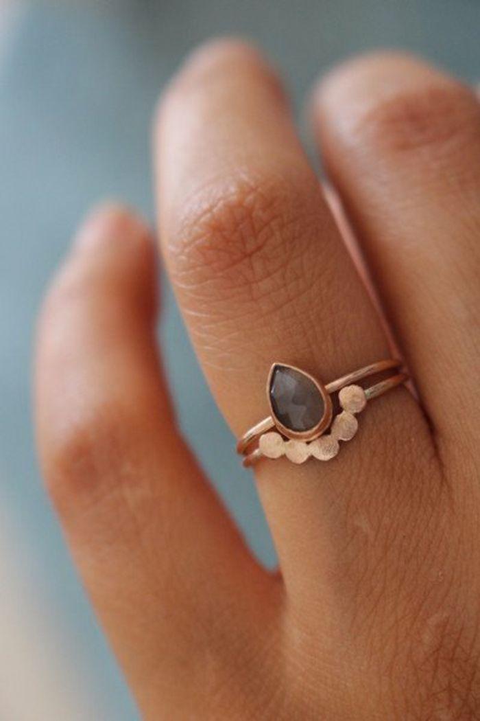 Handmade Silberringe und andere Kostbarkeiten bei Dawanda  Geschenkideen  Ring verlobung
