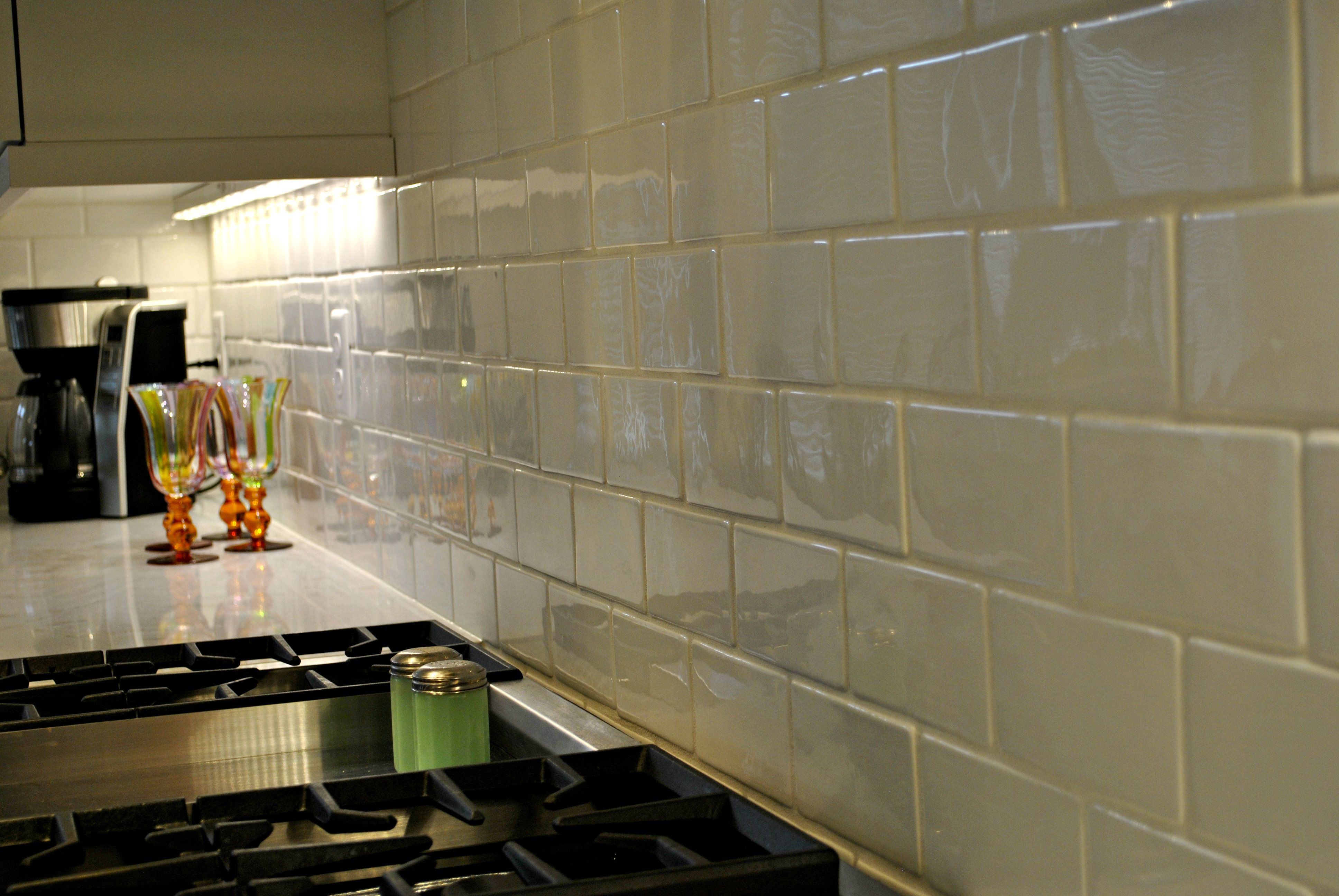 Classic and timeless look this is undulated subway tile that mimics this is undulated subway tile that mimics a handmade tile look dailygadgetfo Image collections