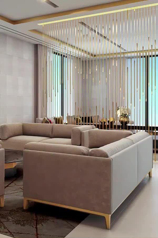 A Bespoke living room interior video from Spazio designers