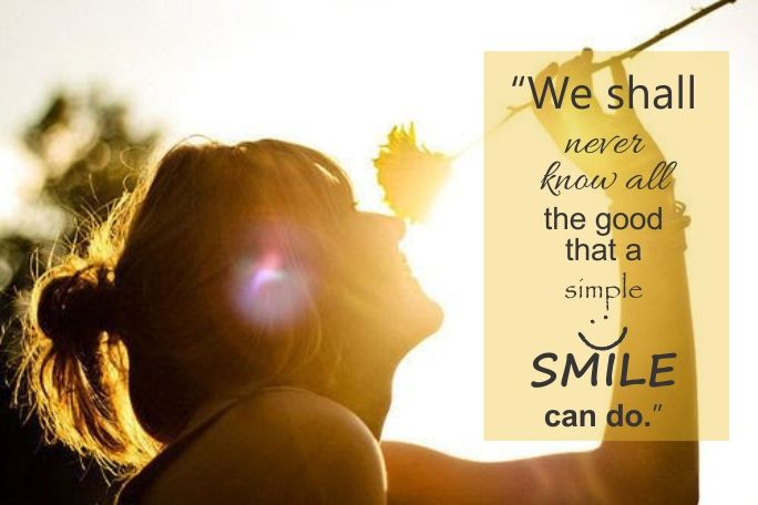 A #SmilingFace can make a difference! So keep smiling and bring a smile on the faces of people around you too.