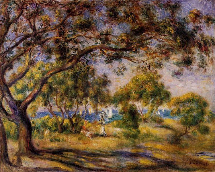 Noirmoutier by   Pierre Auguste Renoir
