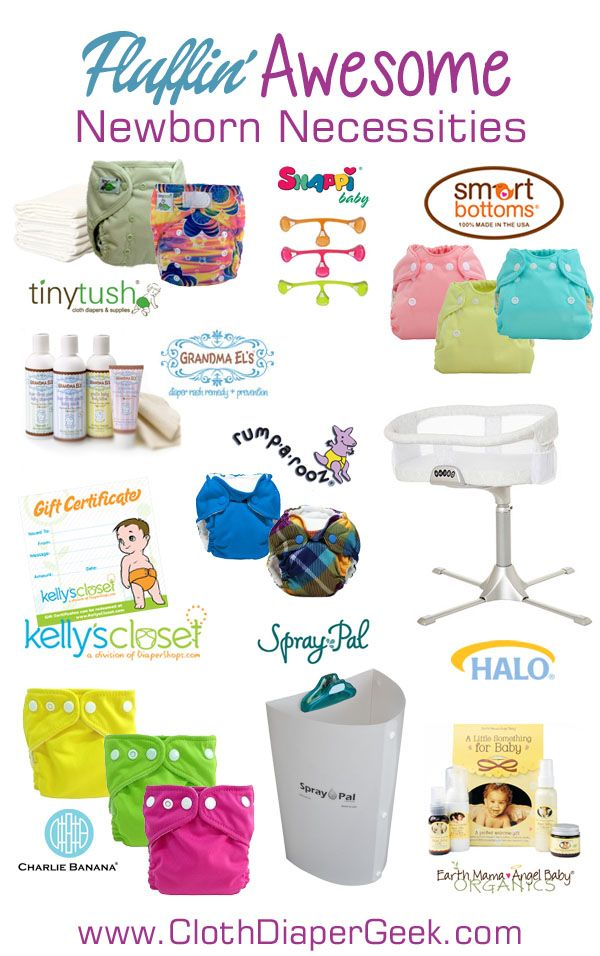 02f3b26b3bc #FluffinAwesome Newborn Necessities for the Mom-to-be (cloth diaper focused)