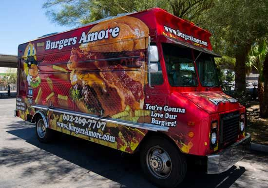 Burgers Amore will be in the Gourmet Food Truck Alley